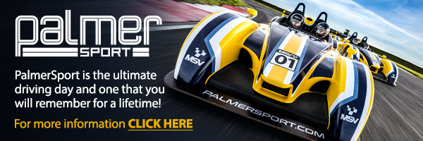 PalmerSport driving experience vouchers