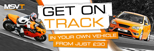 MSV Trackdays from just £30