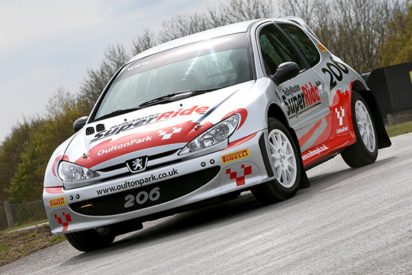 Rally SuperRide Peugeot 206