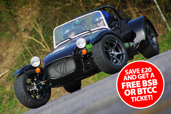 Caterham CDX Drift at Brands Hatch - Save £20